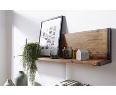 "Wandboard 110x25cm ""Tundra"" Akazie Natur"