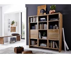 Bücherregal 142 cm 'Dakar' Akazie massiv lackiert