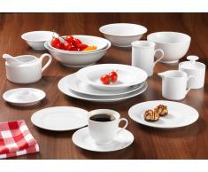Frühstücks-Set 18 tlg. Bianco