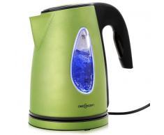 SS17 Wasserkocher 2200W 1,7l grün Lichteffekt