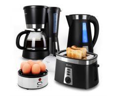 Sunday Morning Frühstücksset mit Eierkocher schwarz
