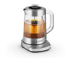 Klarstein Assam Express Wasserkocher Teekocher 1,5 Liter 1500W Edelstahl Teesieb