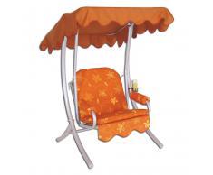 Komfort-Hollywood-Schaukel Single Farbe orange