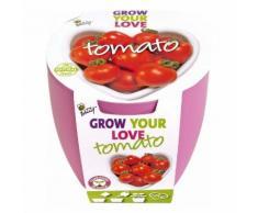 Topf-Set Herz-Tomate Grow Your Love