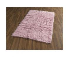 Fell-Teppich, Böing Carpet, »Flokati 1500 g«, handgearbeitet, Wolle, rosa, rose