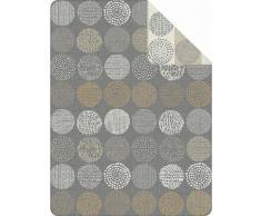 Wohndecke, s.Oliver, »Nock«, mit unterschiedlichen Kreisen, grau, grau