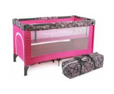 CHIC4BABY Reisebett, »Luxus, hot pink«, rosa, Kinder, hot pink
