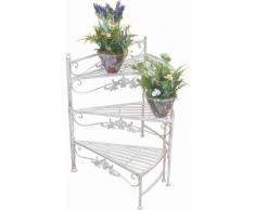 Home affaire Blumenständer »Treppe«, weiß, cremeweiß