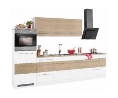 HELD MÖBEL Küchenzeile ohne E-Geräte »Trient« , Breite 290 cm, braun, eiche-sonoma