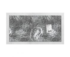 Sigel Glas-Magnettafel im Kupfer-, Silber- oder Goldlook, silberfarben, Silber-Optik