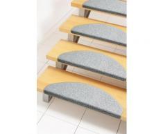 Stufenmatte, »Rambo«, Andiamo, stufenförmig, Höhe 4 mm, geklebt, grau, Unisex, grau