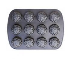 STONELINE® Muffin-Backform, Aluminiumguss, schwarz, Unisex, anthrazit
