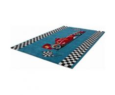 Kinderteppich, »Amigo 321«, Lalee, rechteckig, Höhe 15 mm, maschinell gewebt, blau, blau