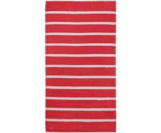 Handtücher, Seahorse, »Menton«, mit dezenten Streifen, rot, rot
