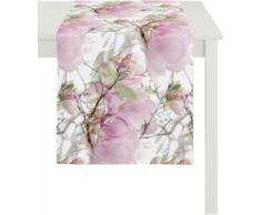 Tischläufer, Apelt, »2106 Magnolie«, rosa, rosetöne