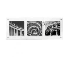 Premium collection by Home affaire Acrylglasbild »Impressions of Rome«, 98/38 cm, grau, grau