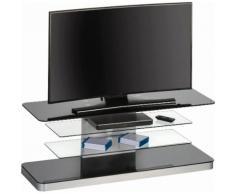 MAJA Möbel TV-Rack »7746«, Höhe 45,8 cm, schwarz, Schwarzglas