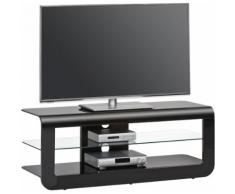 TV-Rack, Maja Möbel, »164«, Breite 120 cm, schwarz, schwarz Hochglanz-Schwarzglas