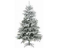 Künstlicher Weihnachtsbaum mit Schnee, in 5 Größen, grün, Unisex, grün/weiß