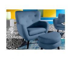 INOSIGN Loungesessel im Retro-Style, natur, Feine Struktur