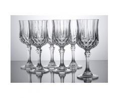 Weißweinkelche, »Longchamp«, Luminarc (6er Set), transparent, Unisex, transparent