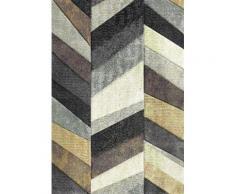 Teppich, merinos, »BELIS PARKETT«, gewebt, handgearbeiteter Konturenschnitt, natur, natur