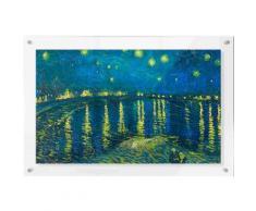 Premium collection by Home affaire Acrylglasbild »van Gogh - Sternennacht 1888«, 118/73 cm, blau, blau