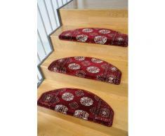 Stufenmatte, »Klassiko 1«, Living Line, stufenförmig, Höhe 13 mm, maschinell getuftet, rot, Unisex, rot