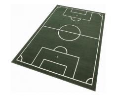 Kinderteppich, »Fussballplatz«, Hanse Home, rechteckig, Höhe 9 mm, maschinell gewebt, grün, grün