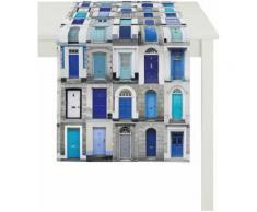 Tischläufer, Apelt, »3046 Fenster«, blau, blau