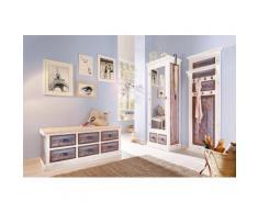 Home affaire, Garderobe »Vintage«, in zwei Farben, weiß, weiß