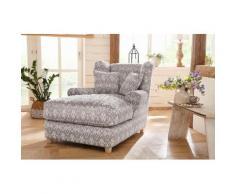 Home Affaire Mega-Sessel »Ango« XXL mit Kedernaht und 2 Zierkissen, Luxus-Microfaser, Luxus-Microfaser