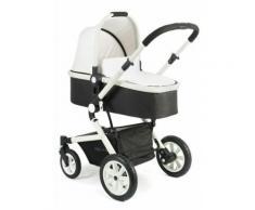 CHIC4BABY Kombi-Kinderwagen mit 2 Aufsätzen, »Passo«, weiß, Kinder, bianco