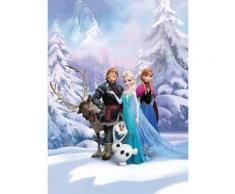 Komar Fototapete »Frozen Winterland«, 184/254 cm, bunt, bunt