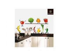Deko-Sticker, EUROGRAPHICS, »Crazy Vegetable«, bunt, bunt