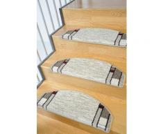 Stufenmatte, »Casco 1«, Living Line, stufenförmig, Höhe 8 mm, maschinell getuftet, natur, Unisex, beige