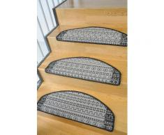 Stufenmatte, »Elvet«, Living Line, stufenförmig, Höhe 6 mm, maschinell getuftet, grau, Unisex, anthrazit