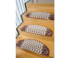 Stufenmatte, »Klassiko 3«, Living Line, stufenförmig, Höhe 13 mm, maschinell getuftet, natur, Unisex, beige