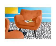 INOSIGN Sessel im Retro-Style, Luxus-Microfaser ALCAZAR®