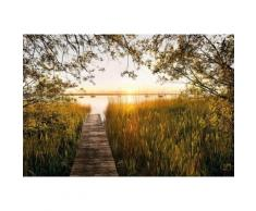 Komar, Vlies Fototapete »Lakeside«, 368/248 cm, Komar, bunt, bunt