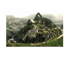 Home affaire Fototapete »Machu Picchu«, 350/260 cm, grün, grün/grau