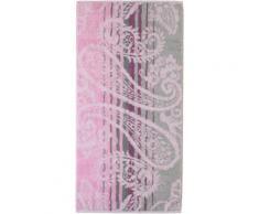 Handtücher, Cawö, »Noblesse Paisley«, mit Paisley-Design, rosa, magnolie