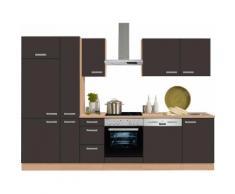 OPTIFIT Küchenzeile ohne E-Geräte »Odense« , Breite 300 cm, grau, anthrazit