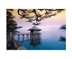 Home affaire Fototapete »Zen - Ukimidou Tempel«, 366/254 cm, bunt, bunt