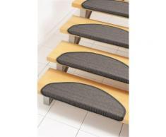 Stufenmatte, »Dortmund«, Dekowe, stufenförmig, Höhe 8 mm, maschinell gewebt, grau, Unisex, grau