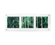 Premium collection by Home affaire Acrylglasbild »Im Dschungel«, 78/28 cm, grün, grün