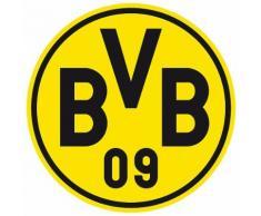 Home affaire Wandtattoo »Borussia Dortmund Logo«, 40/40 cm, gelb, gelb/schwarz