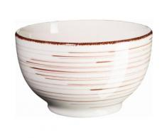 Domestic by Maeser Frühstück-Set Keramik, 18 Teile, »BEL TEMPO«, braun, Unisex, beige