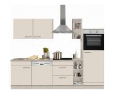 OPTIFIT Küchenzeile »Kalmar« ohne E-Geräte, Breite 270 cm, natur, creme