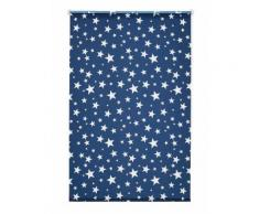 Seitenzugrollo, My Home, »Sanya«, Sterne, Verdunkelung, Fixmaß, ohne Bohren, blau, blau